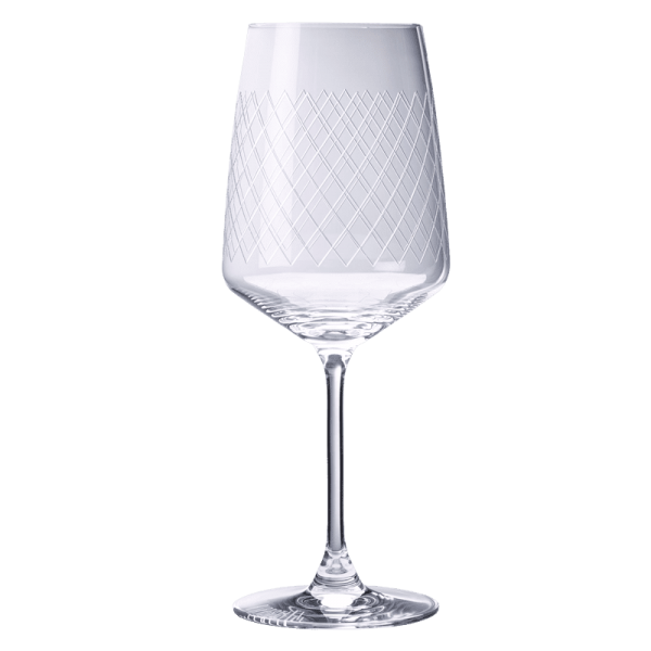 Apfelweinglas mit Stiel