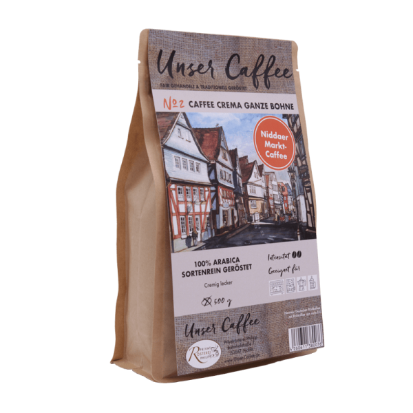 Caffee Crema No.2 ganze Bohne, 500g