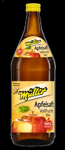 Kelterei Müller Apfelsaft Vollfrucht klar