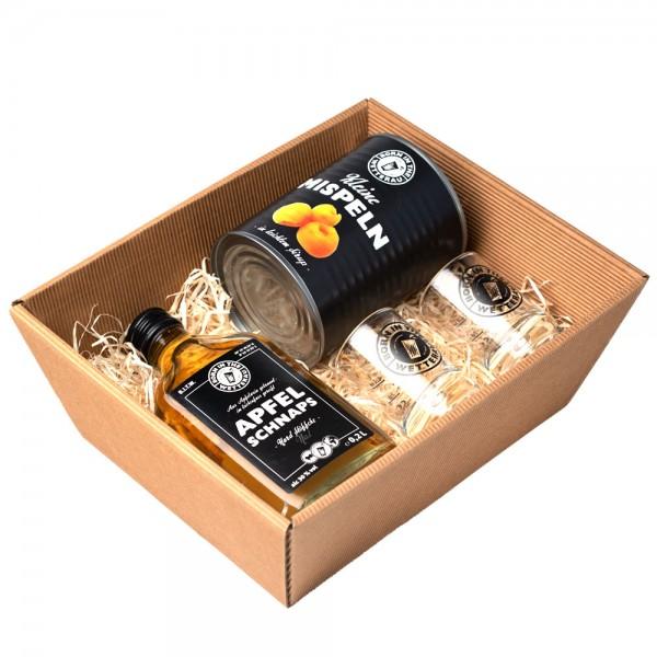 Mispelsche Geschenkbox für zwei