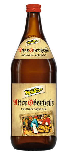 Kelterei Müller Alter Oberhesse naturtrüber Apfelwein