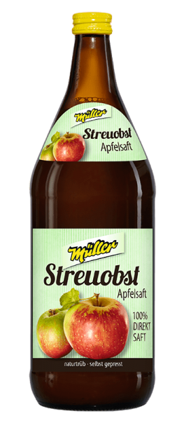 Kelterei Müller Streuobst Apfelsaft
