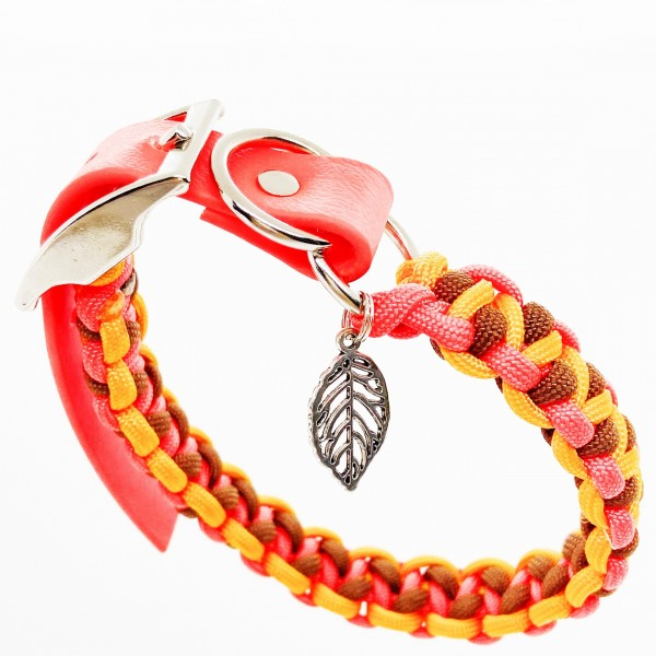 Halsband orange für Minihunde