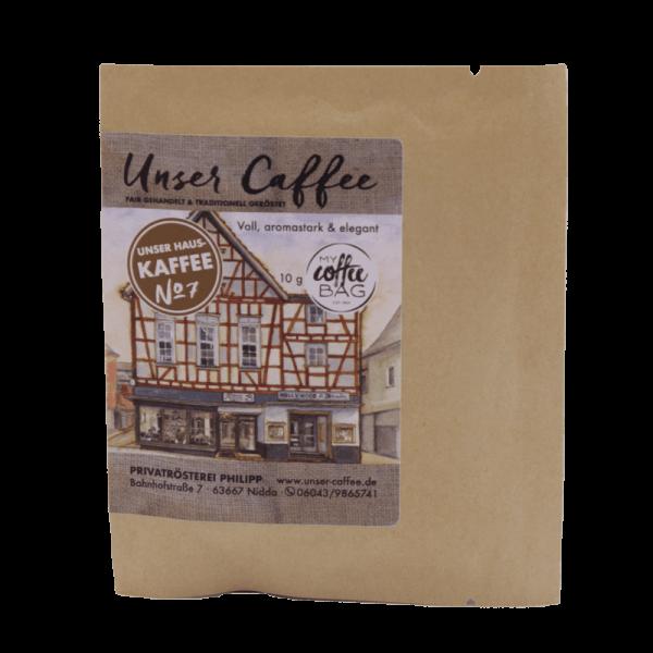 Coffeebag Hauskaffee No.7