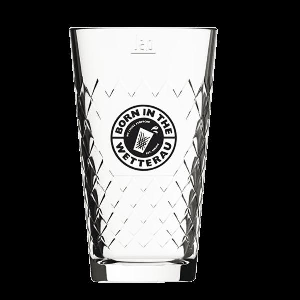 0,5 Liter Gerippte mit schwarzem BITW Logo