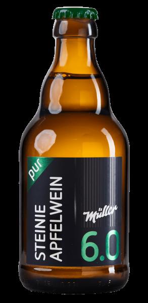 Kelterei Müller Steinie Apfelwein pur