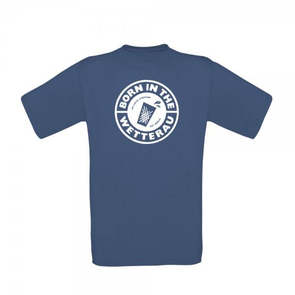T-Shirt Kinder (denim blau)