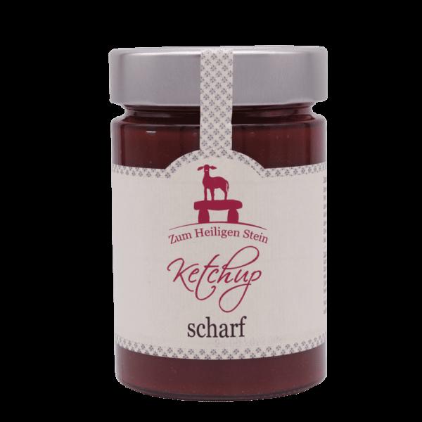 Ketchup scharf