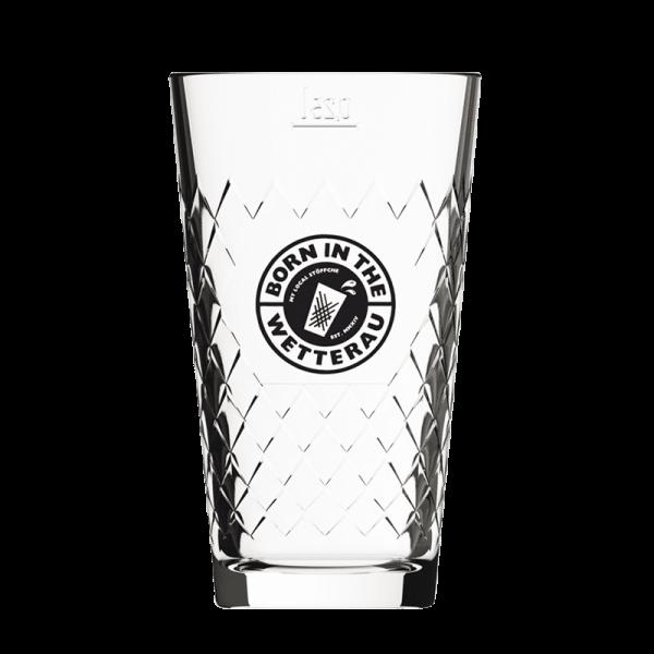 0,25 Liter Gripptes mit schwarzem BITW Logo