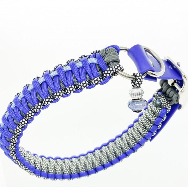 Halsband königsblau für den großen Hund