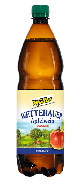 Kelterei Müller Wetterauer Apfelwein PET Flasche
