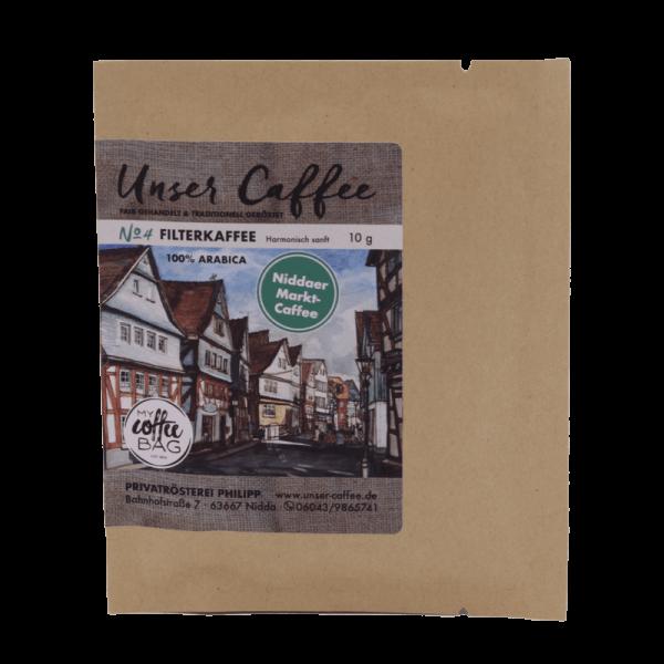 Coffeebag Filterkaffee No.4
