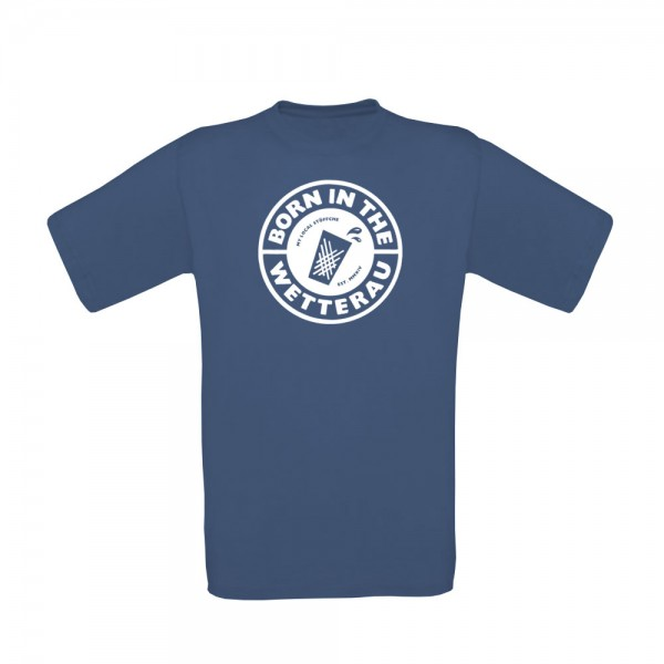 T-Shirt Kinder (denim blau)