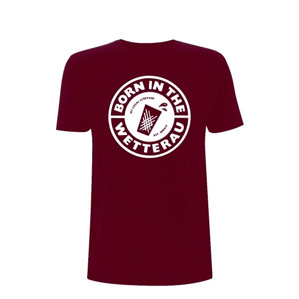 T-Shirt Unisex (burgundy)